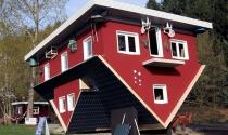 Những ngôi nhà lộn ngược kỳ dị trên thế giới