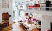 Ngắm những ngôi nhà có tầng lửng đẹp và tiện nghi