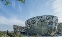 """Đỉnh cao kiến trúc Châu Á: """"Bảo tàng hoa hồng Bắc Kinh"""""""