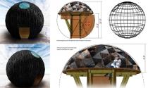 """Phát sốt với kiến trúc quả bóng than """"vi diệu"""""""