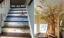Sáng tạo với tranh tường trang trí cho nhà đẹp