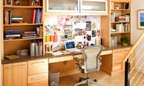 Cách trang trí văn phòng tại gia không bao giờ cũ