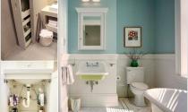 Cách tạo không gian lưu trữ trong phòng tắm