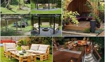 Thiết kế sáng tạo cho không gian nghỉ ngơi ngoài trời