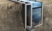 Khám phá nhà mái hồ bơi áp vách núi ở Ý