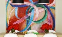 Thổi hồn cho phòng ăn với tranh treo tường ấn tượng
