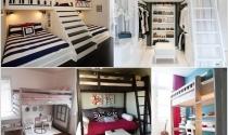 10 cách sáng tạo thiết kế giường tầng cho bé