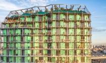 Tháp sinh học 16 tầng màu xanh lá mạ