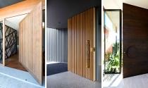 Ngắm mẫu cửa ra vào giúp ngôi nhà thêm ấn tượng