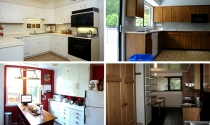 Ngắm những gian bếp tươi mới, đẹp ngỡ ngàng sau khi cải tạo
