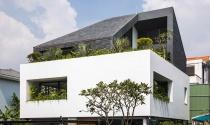 Ngôi nhà màu trắng tại Sài Gòn nổi bật trên báo ngoại