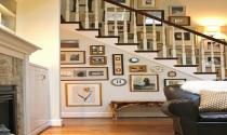 Sáng tạo cho cầu thang thêm đẹp