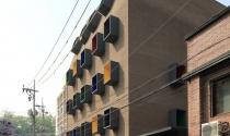 Ấn tượng tòa nhà đa sắc ở Hàn Quốc