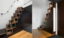 Decor gầm cầu thang cho nhà thêm gọn gàng