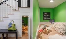 Tận dụng gầm cầu thang, thiết kế thành không gian độc đáo
