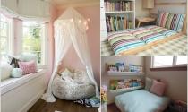 Sáng tạo góc đọc sách trong phòng cho bé