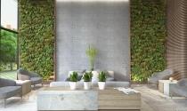 Nét duyên từ trang trí tường bê tông