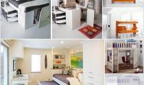 Lựa chọn giường ngủ đa năng cho phòng có diện tích nhỏ