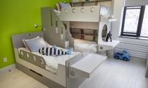 Thiết kế thông minh cho không gian phòng bé