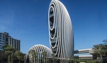 Tòa nhà Lè Architecture có kiến trúc đá cuội độc đáo