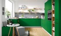 Màu sắc trang trí phòng bếp cho mùa hè tươi mát
