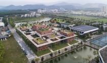 Ngỡ ngàng trước sự yên bình của trung tâm giáo dục ở ngoại ô Hà Nội