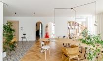 Thiết kế không gian làm việc ấm áp, thoải mái