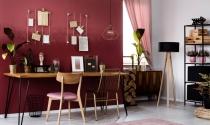 Ý tưởng phối màu cho văn phòng làm việc tại nhà