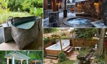 Những thiết kế bồn tắm nước nóng thư giãn ngoài trời