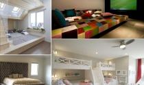Thiết kế giường cỡ lớn cho cả gia đình