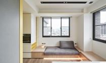Lưu trữ thông minh, màu sắc tươi sáng trong căn hộ nhỏ