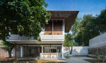 Ngôi nhà có hệ mái chồng hút mắt tại Thái Nguyên