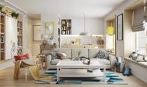 Căn hộ tươi sáng với thiết kế nội thất Bắc Âu (P2)