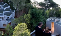 Mê mẩn dải nhà xếp tầng đổ dốc ở California