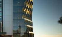Tòa tháp Mặt trời dạng đục khoét ấn tượng cạnh sông Hudson