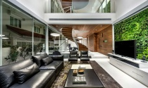 Ngôi nhà hiện đại tuyệt đẹp ở Singapore với cầu thang xoắn ốc