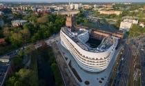 Ngắm Trung tâm OVO Warsaw diện mạo cong lượn độc đáo