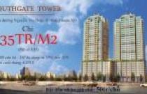 BÁN CĂN HỘ CAO CẤP SOUTH GATE TOWER, MẶT TIỀN NGUYỄN THỊ THẬP, Q7, GIÁ CHỈ TỪ 35TR/M2