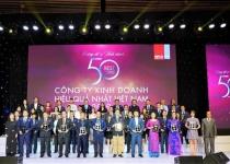 Novaland tiếp tục được vinh danh Top 50 công ty kinh doanh hiệu quả nhất Việt Nam