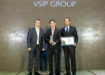 Uy tín VSIP khẳng định qua loạt giải thưởng tại Dot Property Awards 2020