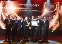 """Gamuda Land Việt Nam được vinh danh là """"Nhà phát triển Bất động sản tốt nhất – Best Developer"""" tại giải thưởng Vietnam Property Awards 2020"""