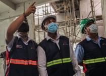 Hoạt động phòng chống dịch Covid-19 tại các công trường xây dựng của Coteccons