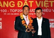 Phát Đạt vinh dự nhận giải thưởng Sao Vàng Đất Việt năm 2010