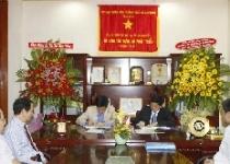 Hoàng Quân - Hòa Bình ký kết hợp đồng tổng thầu xây dựng