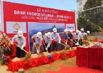 Đà Nẵng: Khởi công công trình Làng Pháp và Lâu Đài Bà Nà