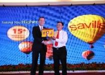 Savills: Tổ chức kỷ niệm 15 năm thành lập công ty tại Việt Nam