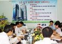 Vinaconex 2: Ký hợp đồng gói thầu dự án MD Complex Tower