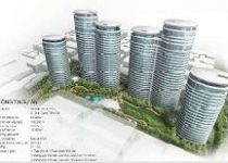 Cất nóc tòa tháp Avenue cao 21 tầng