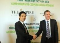 Thành Đô hợp tác cùng với Indochina Land