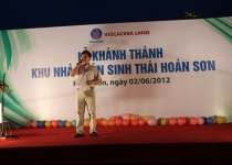Viglacera khánh thành khu nhà vườn sinh thái Hoàn Sơn